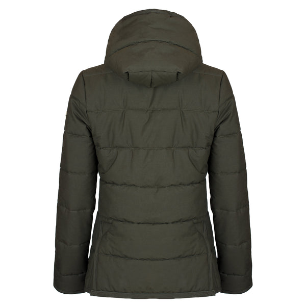 Hicks & Brown The Newmarket Dry Wax Jacket (Olive Green)