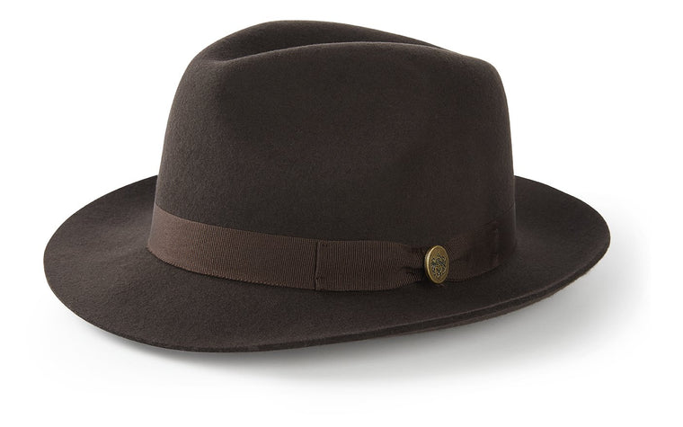 The Thurlow Trilby in Brown (No Feather)
