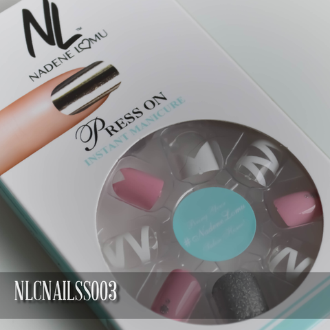 NLC Press On Manicure Mixed Design Style SS003