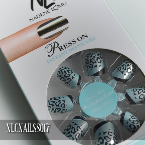 NLC Press On Manicure Single Design Style SS017