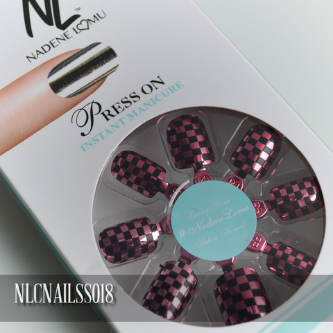 NLC Press On Manicure Single Design Style SS018