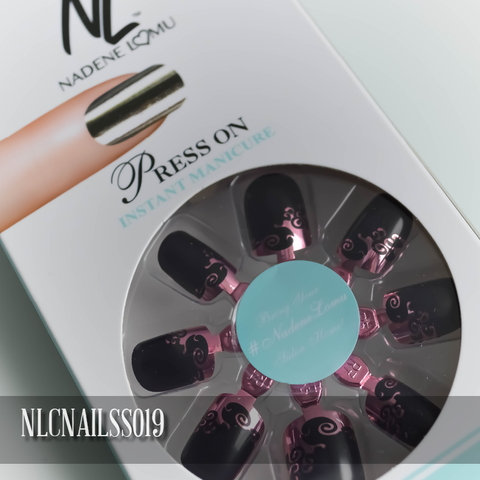 NLC Press On Manicure Single Design Style SS019