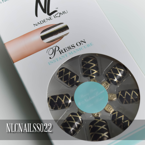 NLC Press On Manicure Single Design Style SS022