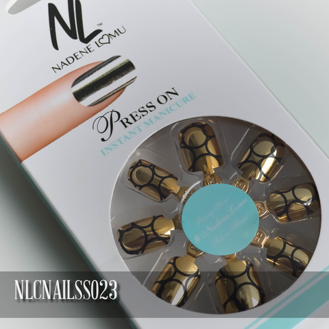 NLC Press On Manicure Single Design Style SS023
