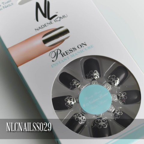 NLC Press On Manicure Single Design Style SS029