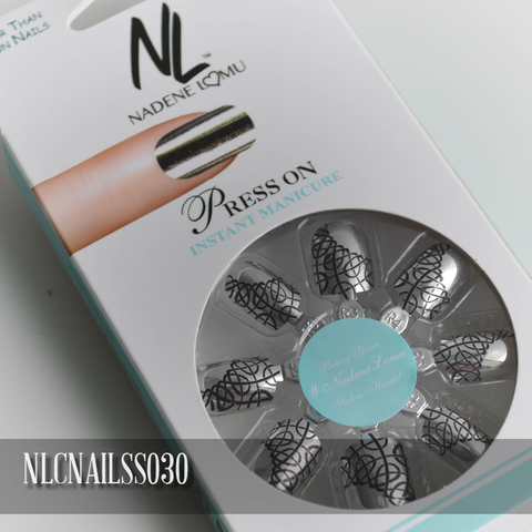 NLC Press On Manicure Single Design Style SS030