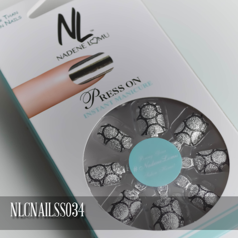 NLC Press On Manicure Single Design Style SS034