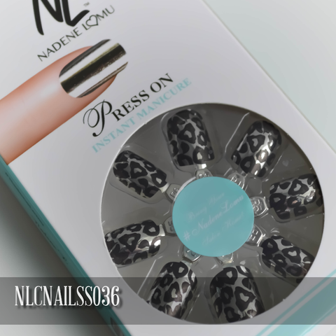 NLC Press On Manicure Single Design Style SS036