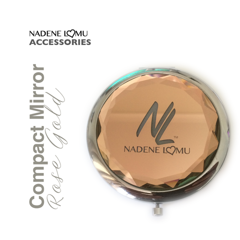 #NLC Magnifying Mirror Compact Rose Gold
