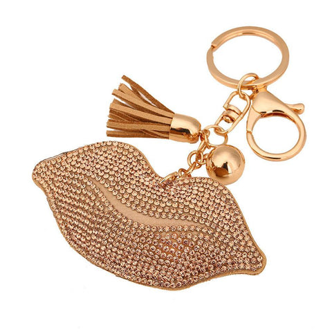 Poppin Pout Keychain