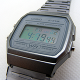 Modified Casio Watch (Silver/Green)