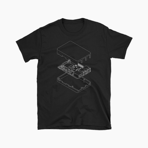 Isometric Pi Tee (Black)