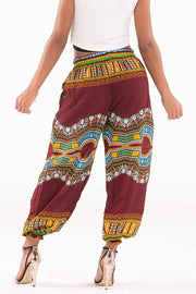 Low Waisted African Dashiki Pants