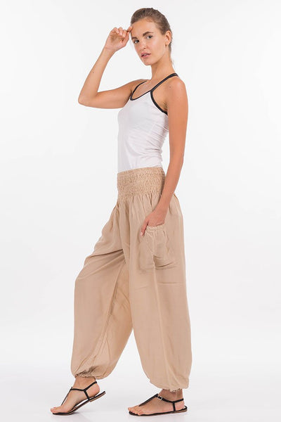 Solid Color Harem Pants (Deep)