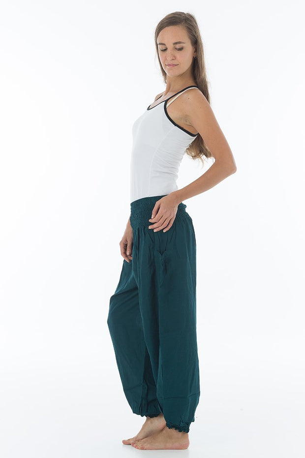 Solid Color Harem Pants (Neutral)