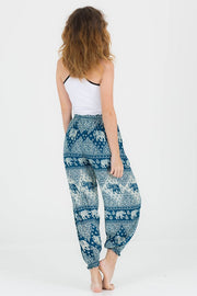 Dotty Low Waisted Elephant Harem Pants