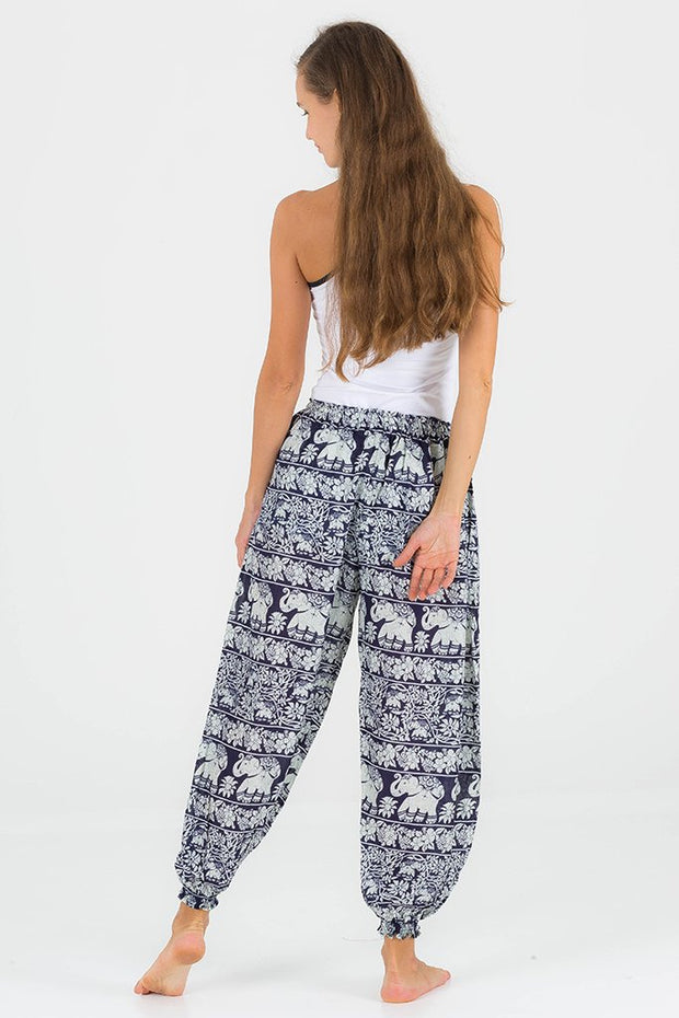 Flora Low Waisted Elephant Pants