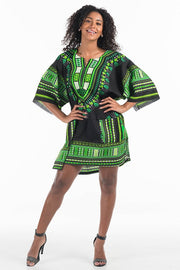 African Dashiki Shirtdress (One Size)