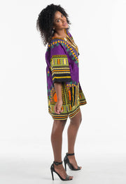 Dashiki Shirt Dress - Thank You
