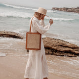 Heather Everyday Tote - Tan
