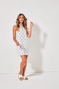 Nola Sleeveless Mini Dress
