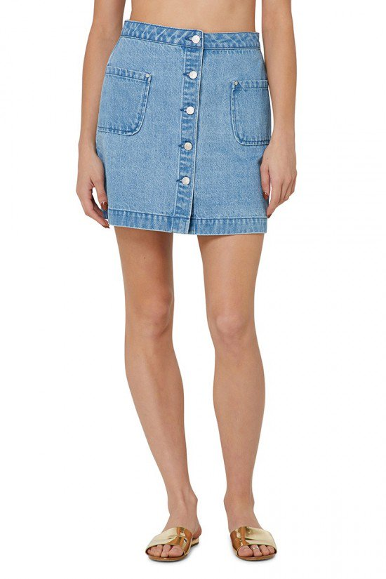 Farrell Denim Skirt
