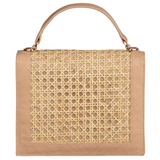Heather Top Handle Bag - Nude