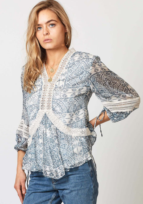 Voyage Prosecco Blouse