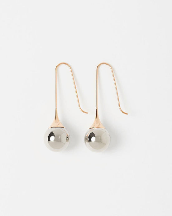 Pastiche Two Tone Earrings