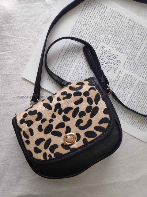 Laine Leopard Bag