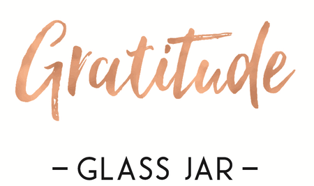 Gratitude Glass Jars Au