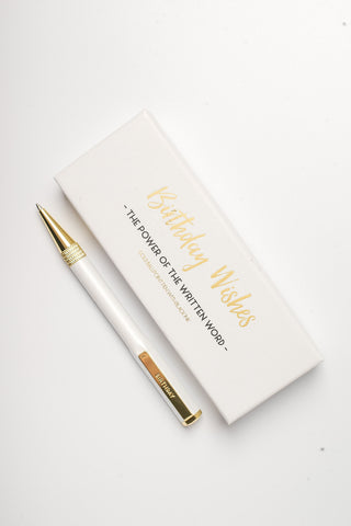 Birthday Wishes Signature Pen