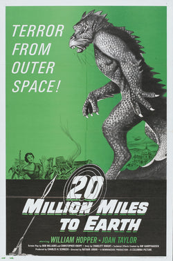 20 Million Miles to Earth - 50s B-Movie Classic - Vintage Print A