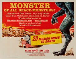 20 Million Miles to Earth - 50s B-Movie Classic - Vintage Print B