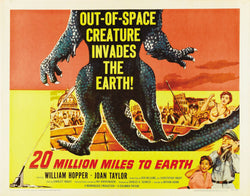 20 Million Miles to Earth - 50s B-Movie Classic - Vintage Print C