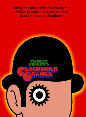 A Clockwork Orange - A2 Poster