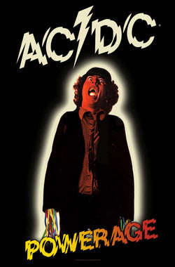 AC/DC - Powerage - Textile Flag