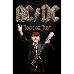 AC/DC - Rock Or Bust Angus - Textile Flag
