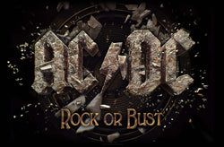 AC/DC - Rock Or Bust - Textile Flag