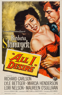 All I Desire - Barbara Stanwyck - Vintage Movie Print A