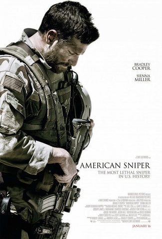American Sniper - A4 Movie Mini Print A