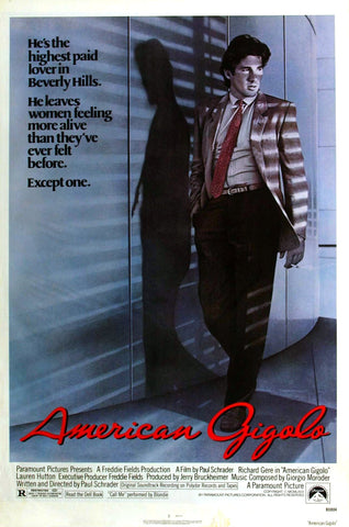 American Gigolo - A4 Movie Mini Print