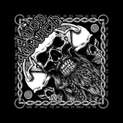 Amon Amarth - Bearded Skull - Bandana
