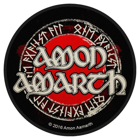 Amon Amarth - Runes - Circular Patch