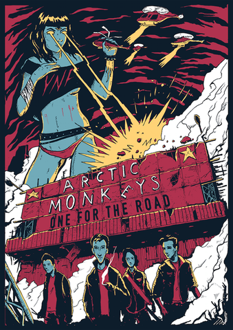 Arctic Monkeys - One for the Road - A4 Music Mini Print