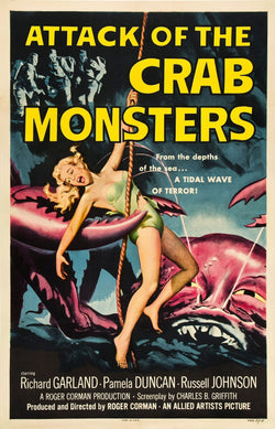 Attack of the Crab Monsters - 50s B-Movie Classic - Vintage Print A