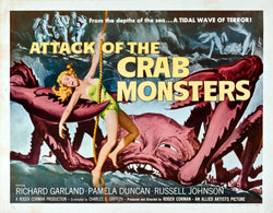 Attack of the Crab Monsters - 50s B-Movie Classic - Vintage Print B