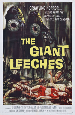 Attack of the Giant Leeches - 50s B-Movie Classic - Vintage Print A