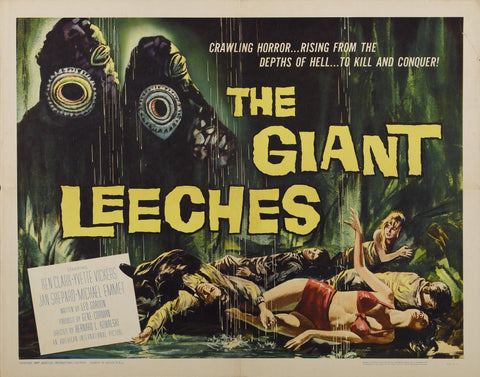 Attack of the Giant Leeches - 50s B-Movie Classic - Vintage Print B