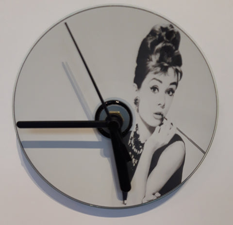 Audrey Hepburn - Breakfast at Tiffanys - Cd Clock